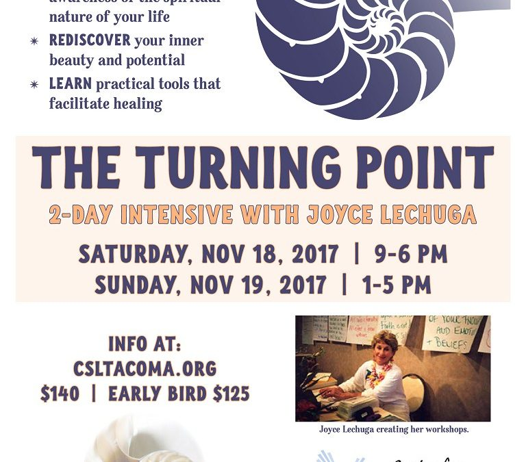 Turning Point Workshop