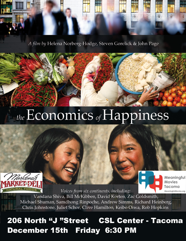 The Economics of Happiness Poster
